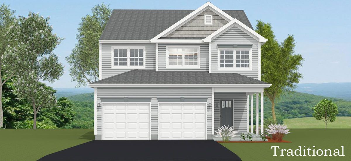 Exterior featured in the Benjamin By Forino Homes in Reading, PA