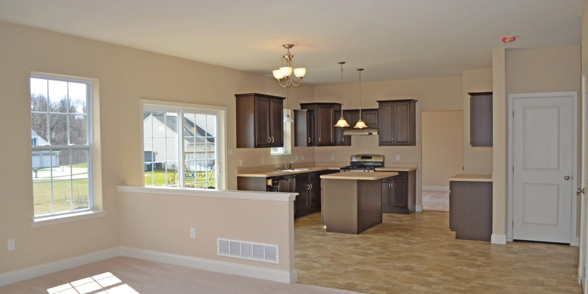 Kitchen featured in the Boston By Forino Homes in Reading, PA