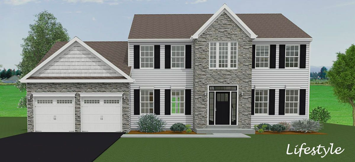 Exterior featured in the Dominic By Forino Homes in Reading, PA