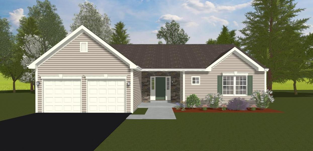 Exterior featured in the Florida By Forino Homes in Reading, PA