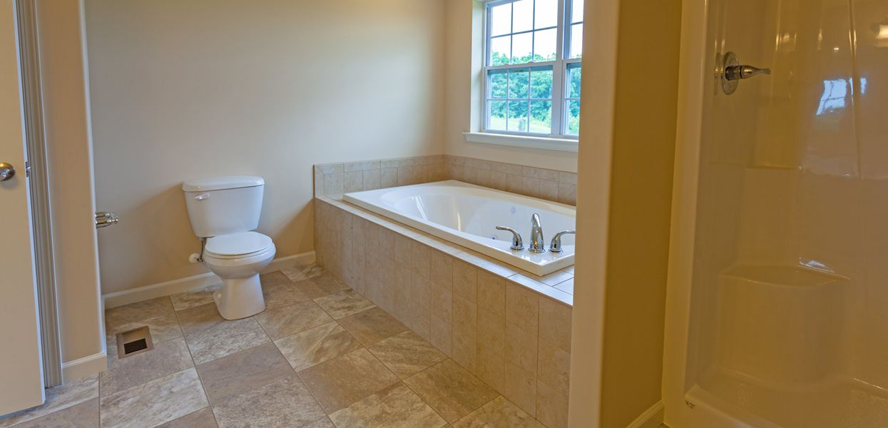 Bathroom featured in the Maine By Forino Homes in Reading, PA