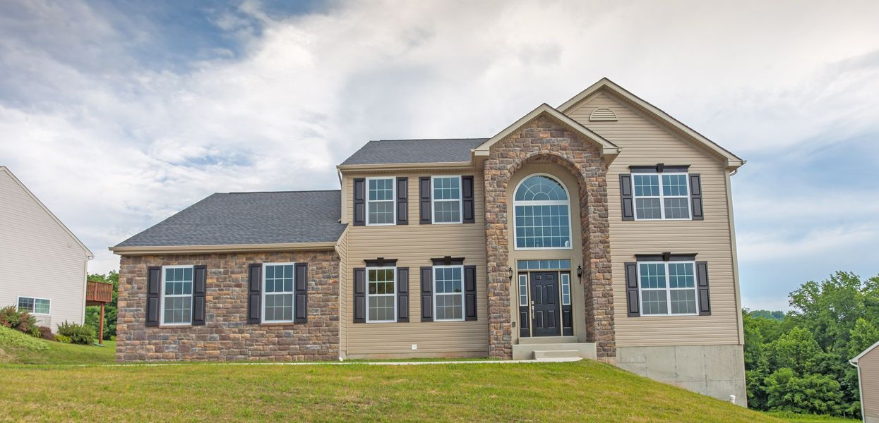 Exterior featured in the Maine By Forino Homes in Reading, PA