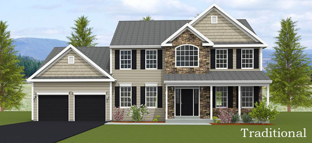 Exterior featured in the Olivia By Forino Homes in Reading, PA