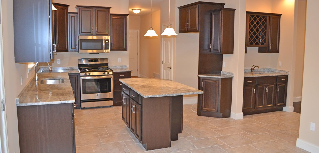 Kitchen featured in the Olivia By Forino Homes in Reading, PA