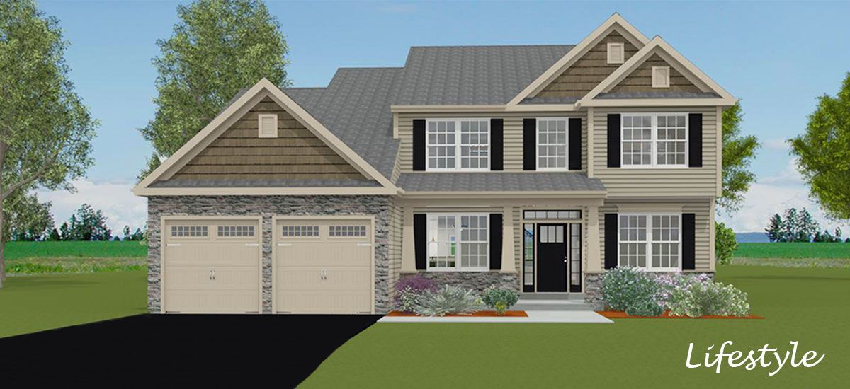 Exterior featured in the Roman By Forino Homes in Reading, PA