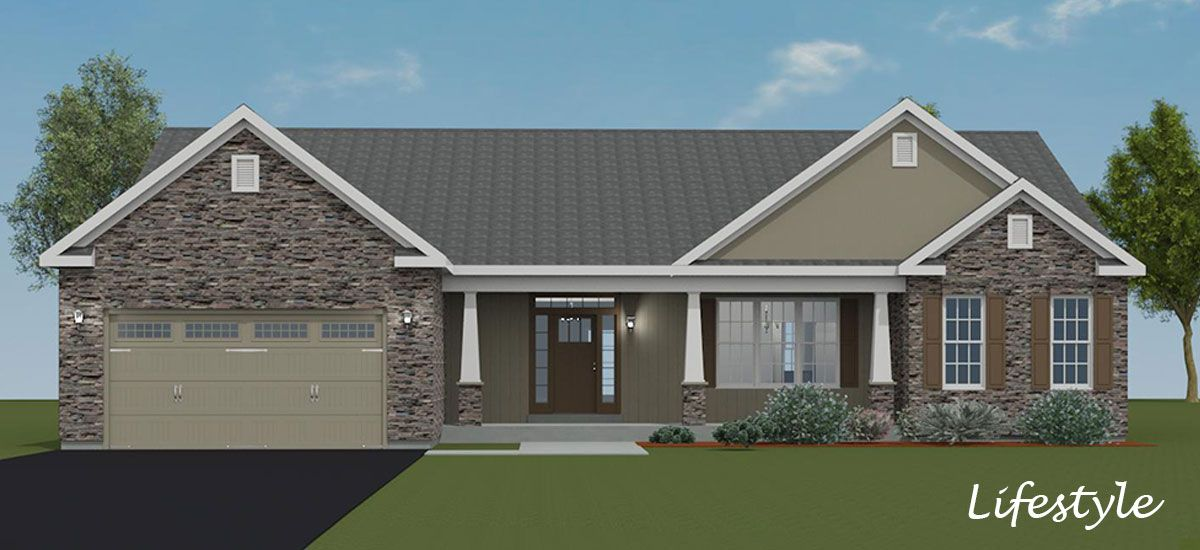 Exterior featured in the Tahoe III By Forino Homes in Reading, PA