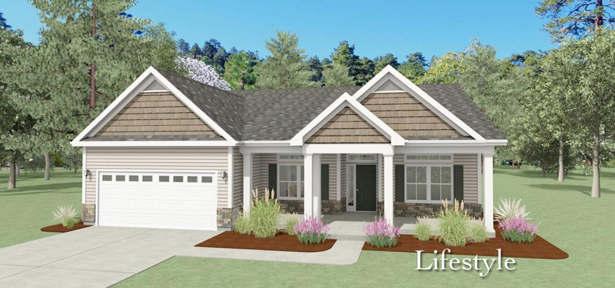 Exterior featured in the Harbor By Forino Homes in Savannah, SC