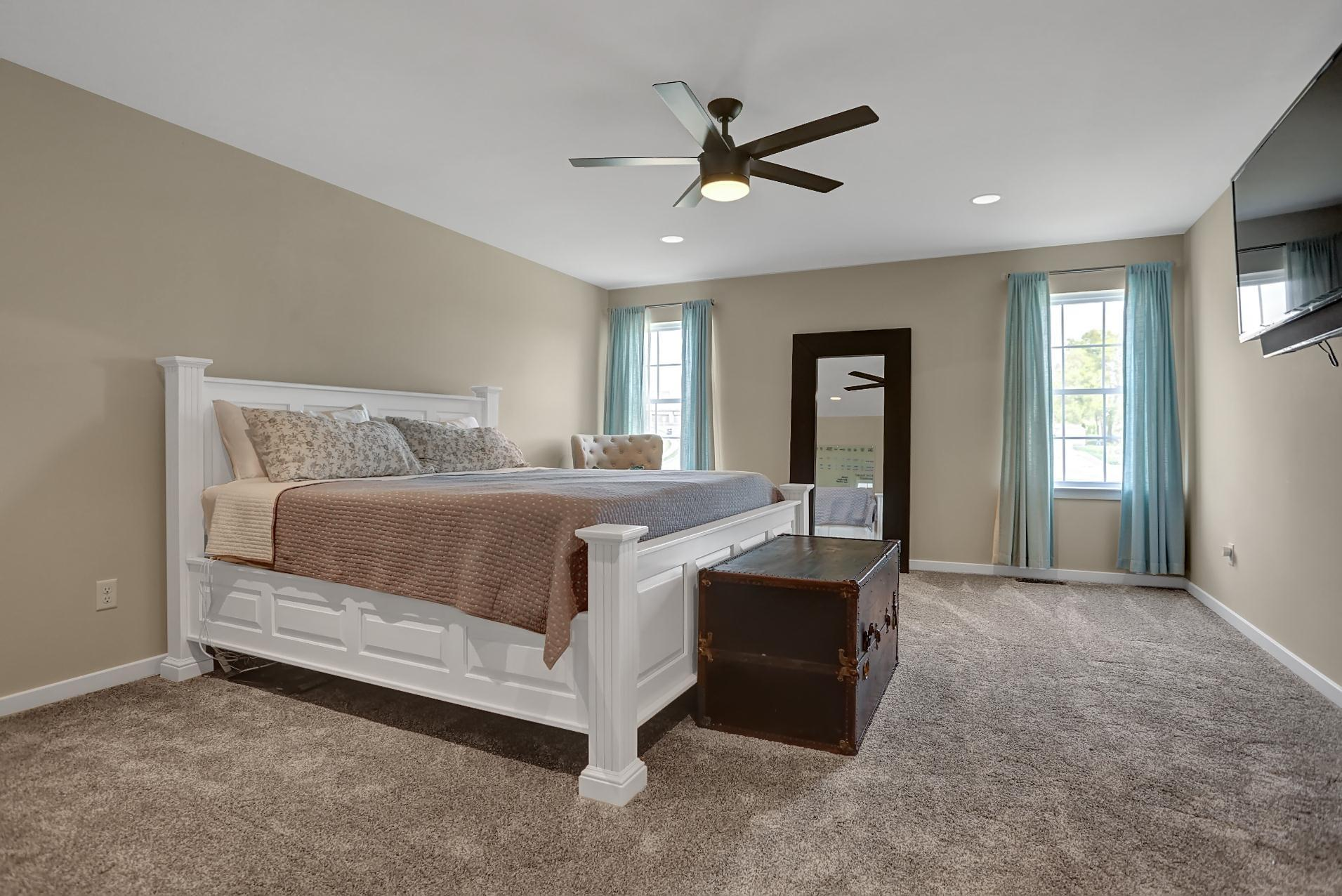 Bedroom featured in the Roman By Forino Homes in Reading, PA