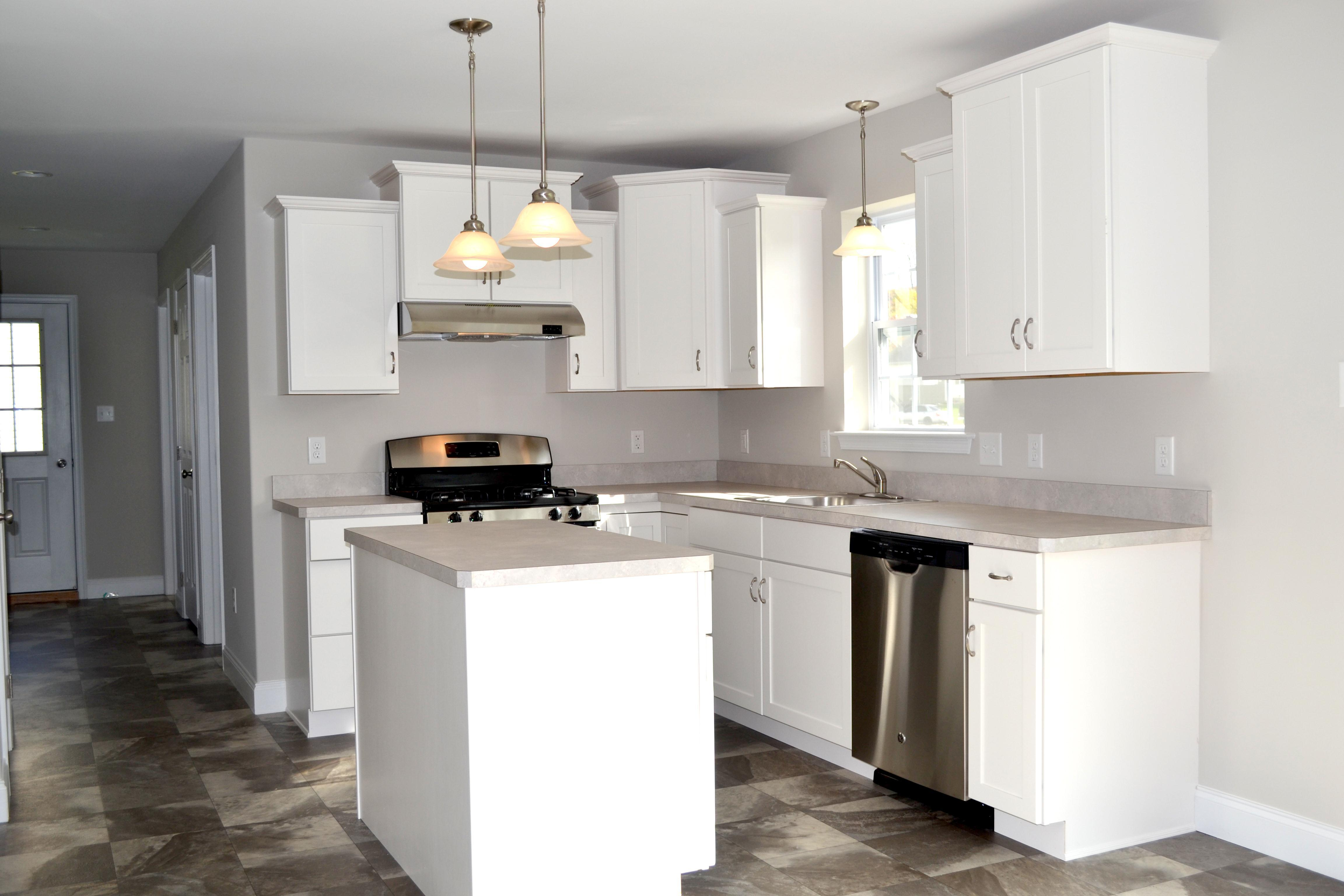 Kitchen featured in the Cambridge By Forino Homes in Reading, PA