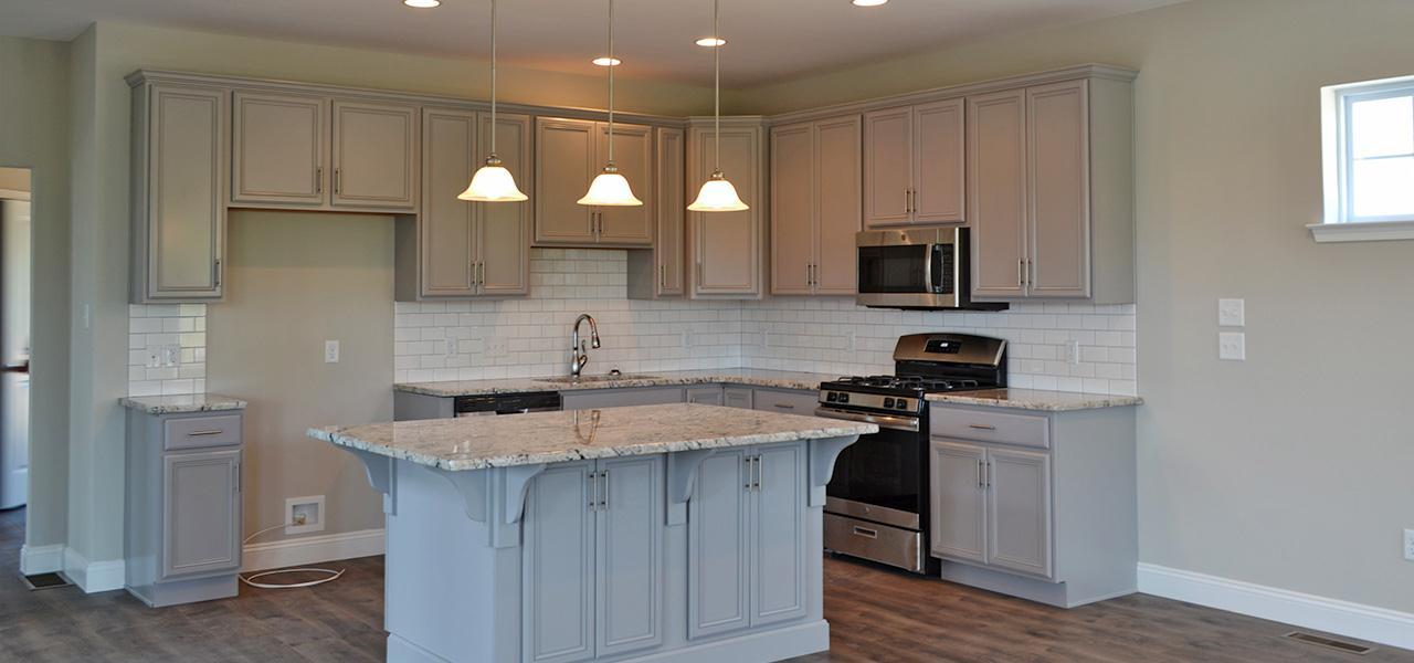 Kitchen featured in the Mason By Forino Homes in Reading, PA