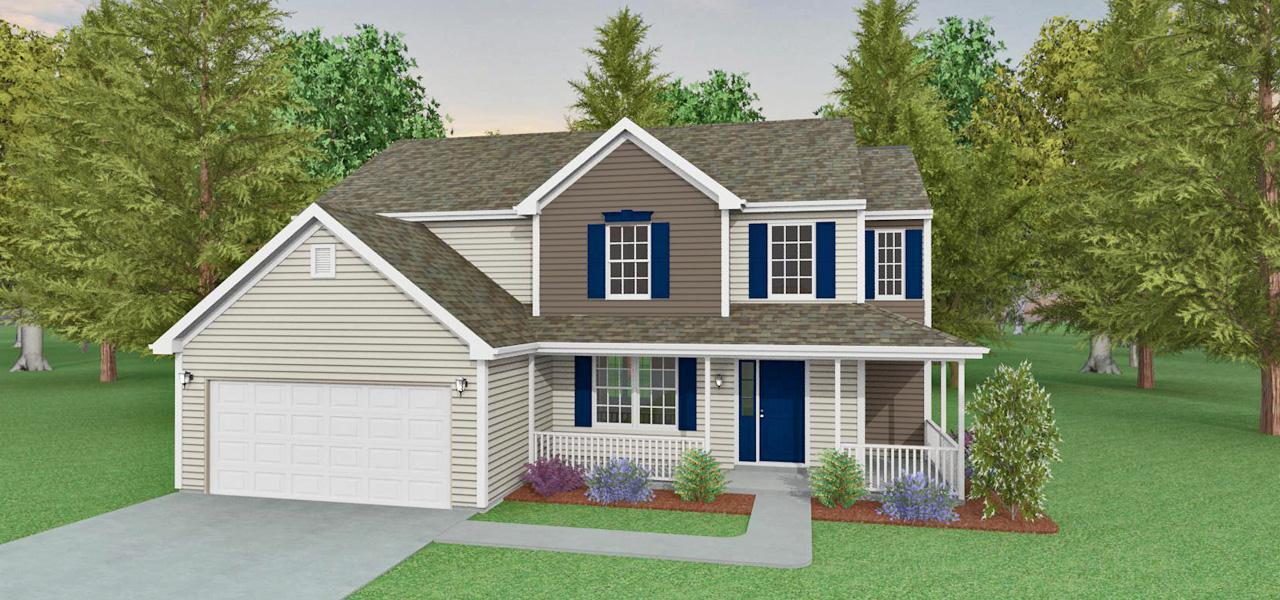 Exterior featured in the San Diego By Forino Homes in Reading, PA