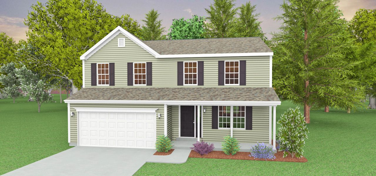 Exterior featured in the Andrew II By Forino Homes in Reading, PA