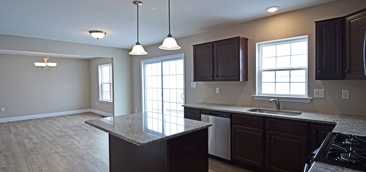 Kitchen featured in the Andrew II By Forino Homes in Reading, PA