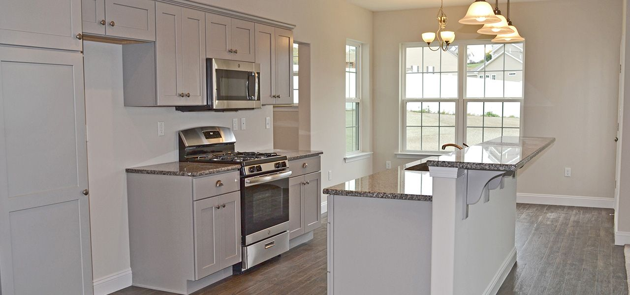 Kitchen featured in the Sutton By Forino Homes in Reading, PA