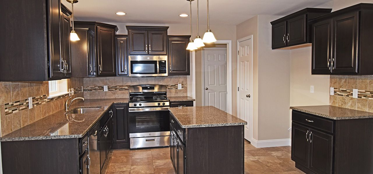 Kitchen featured in the Rochester By Forino Homes in Reading, PA