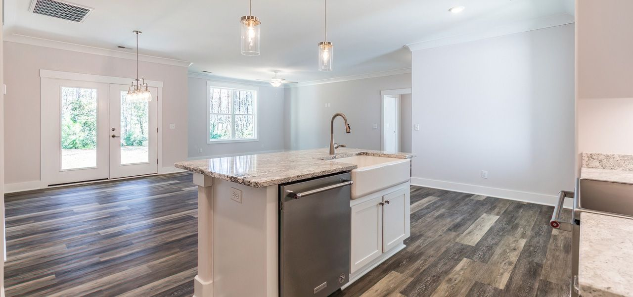 Kitchen featured in the Duke By Forino Homes in Hilton Head, SC