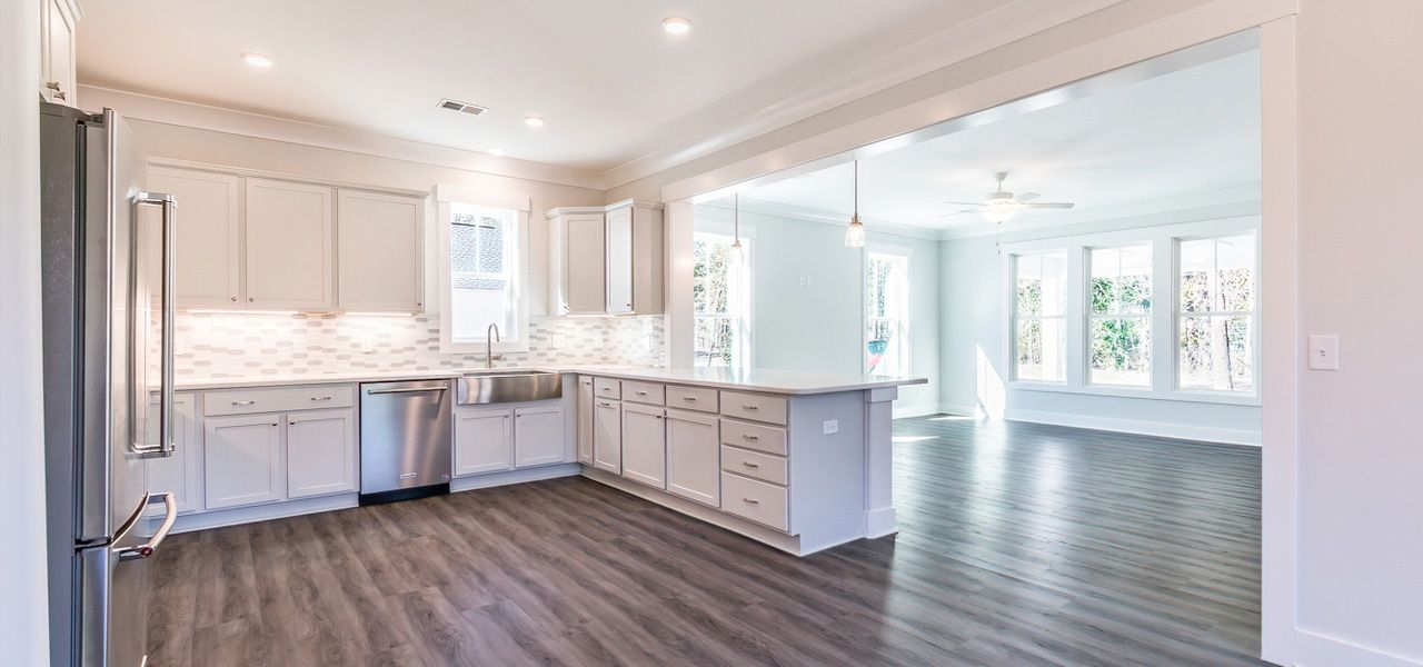 Kitchen featured in the Berry By Forino Homes in Hilton Head, SC