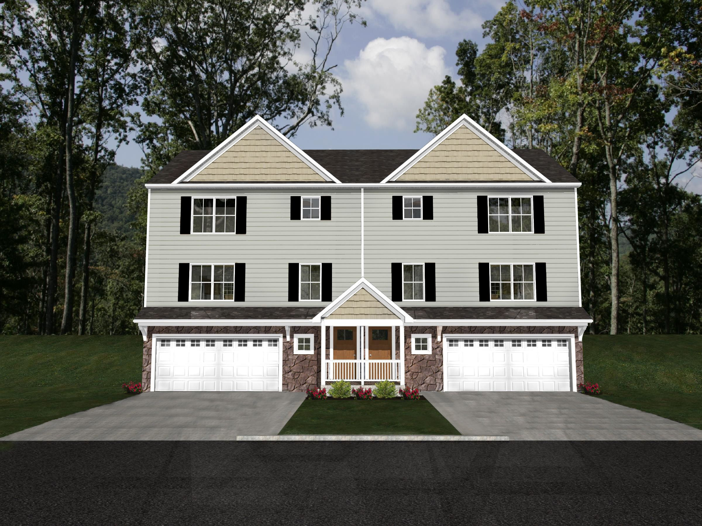 Exterior featured in the Phoenix By Forino Homes in Reading, PA