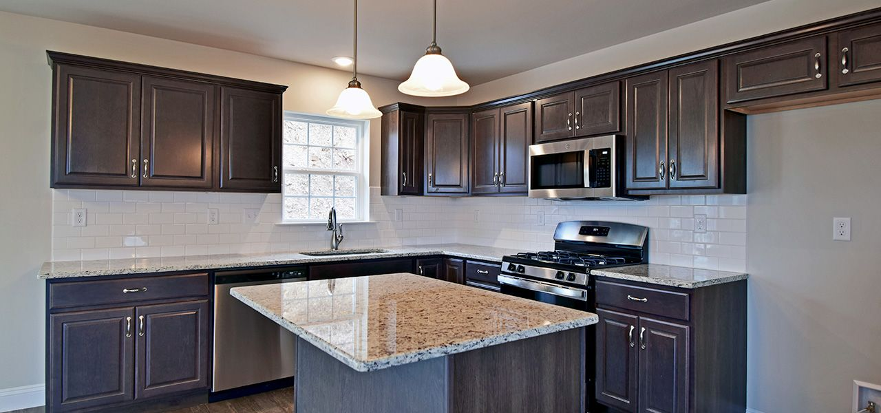 Kitchen featured in the New Yorker By Forino Homes in Reading, PA