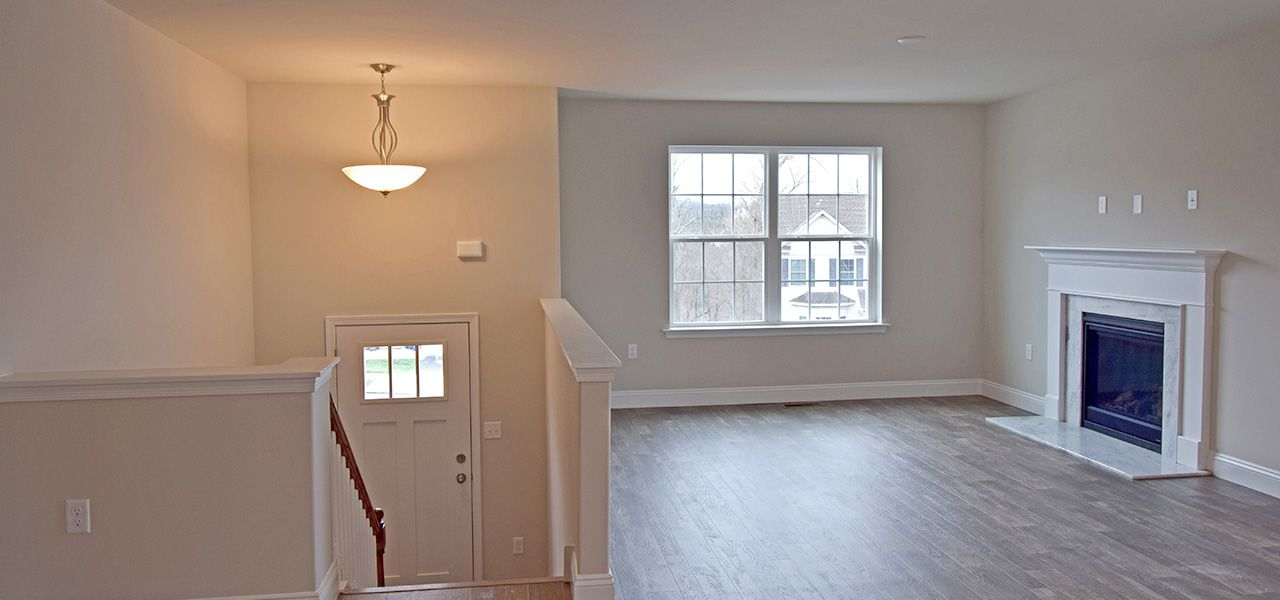 Living Area featured in the New Yorker By Forino Homes in Reading, PA
