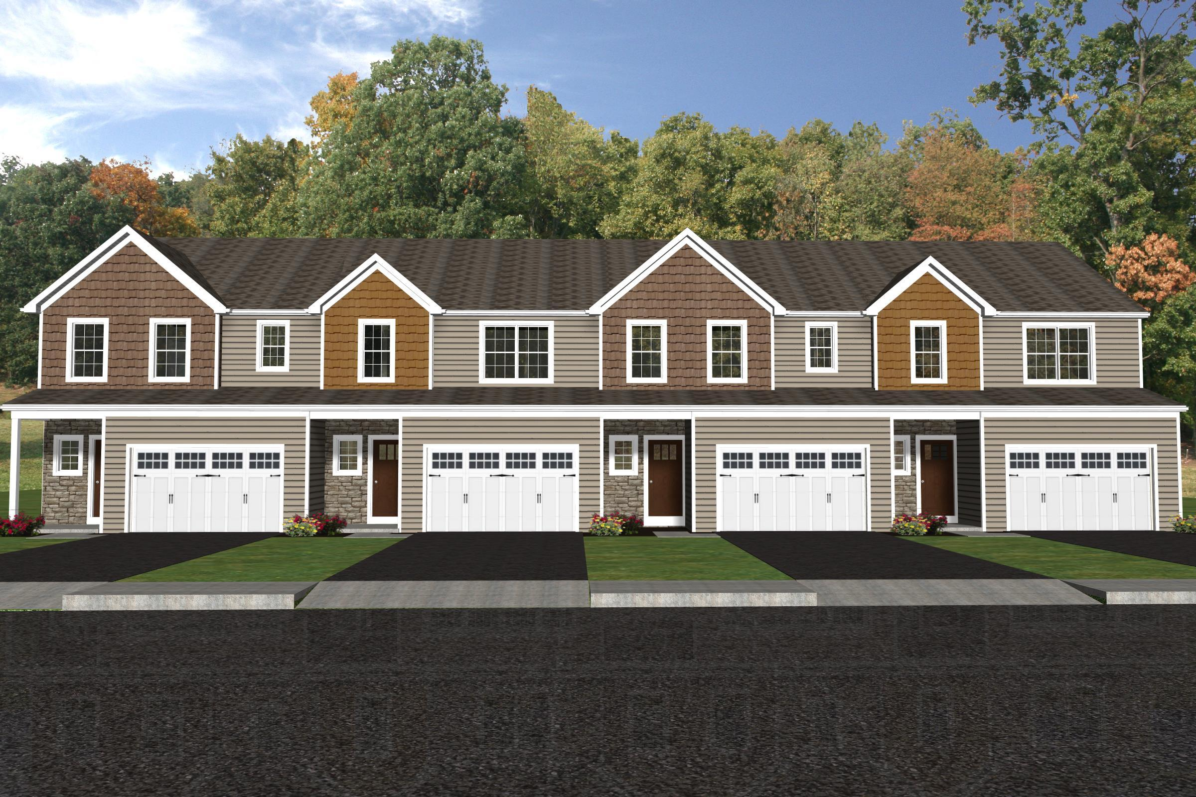 Exterior featured in the Addison A By Forino Homes in Reading, PA