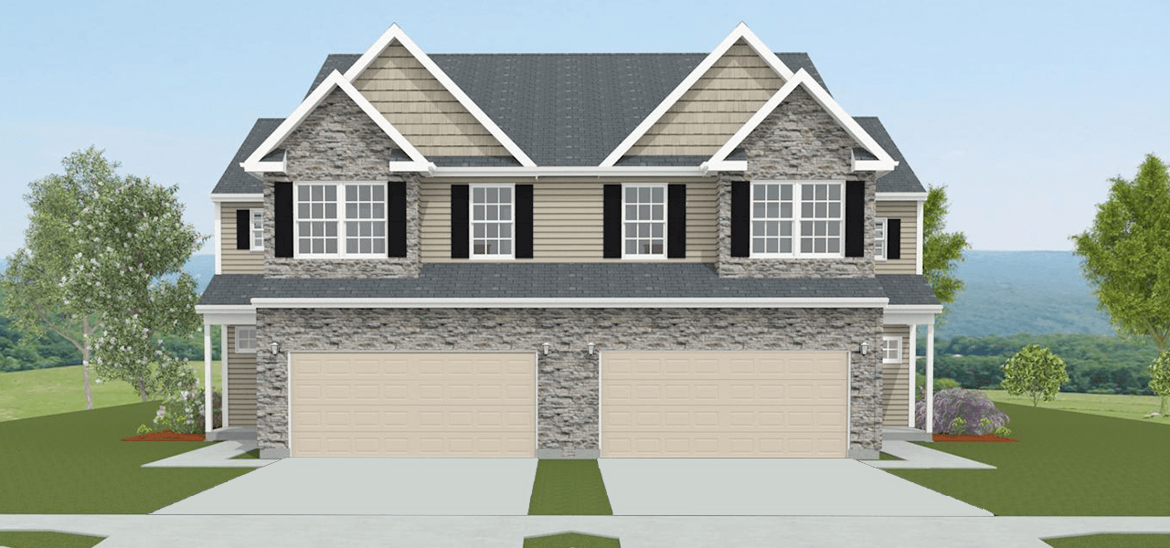 Exterior featured in the Durham By Forino Homes in Reading, PA