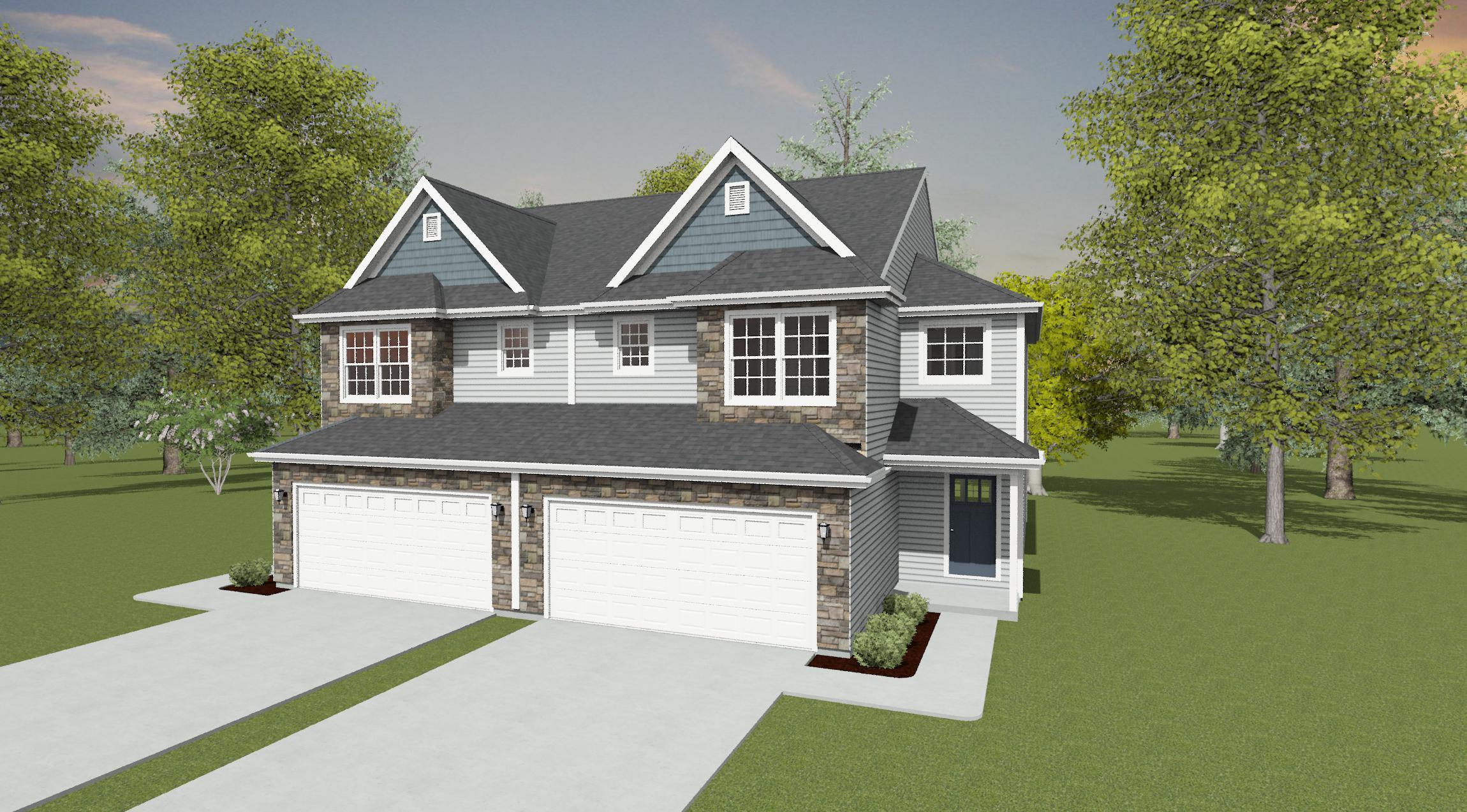 Exterior featured in the Eden By Forino Homes in Reading, PA