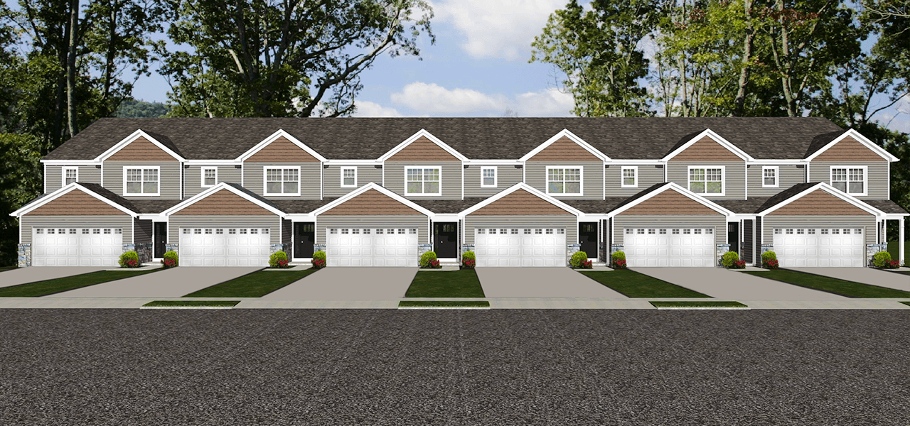 Exterior featured in the Chestnut B By Forino Homes in Reading, PA