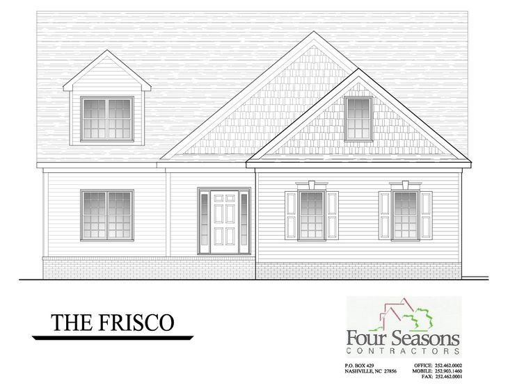 The Frisco Front Elevation