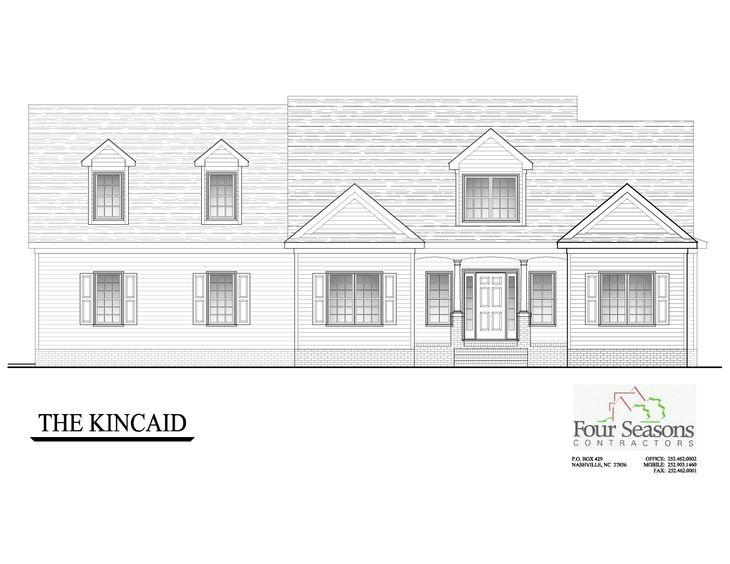 Kincaid Front Elevation