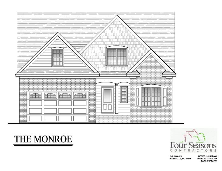 The Monroe Front Elevation