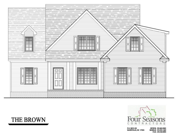 The Brown Front Elevation