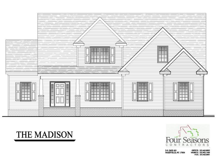 The Madison Front Elevation