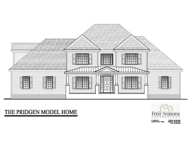 The Pridgen Model Elevation