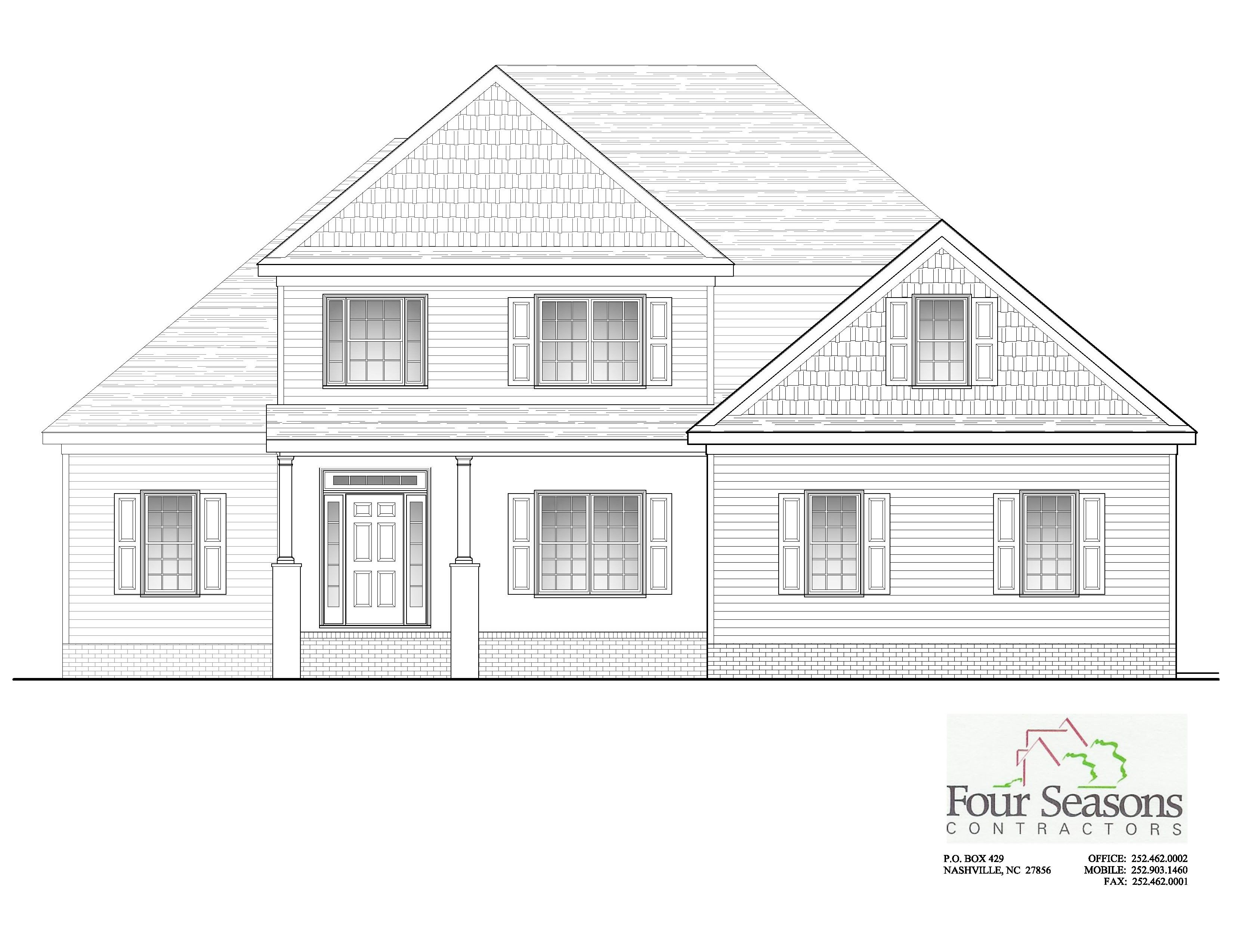Exterior featured in The Annabella By Four Seasons Contractors in Rocky Mount, NC
