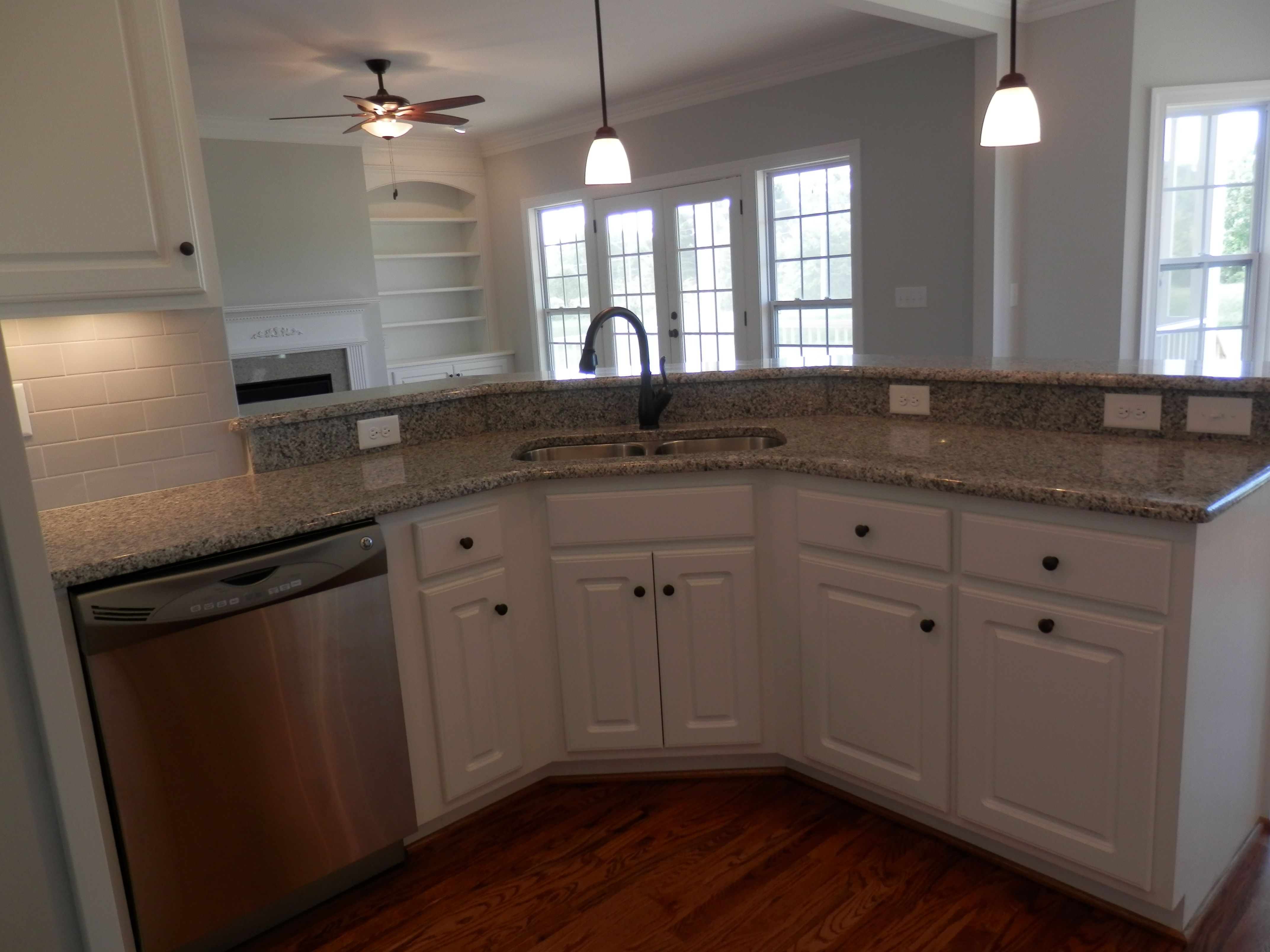 Kitchen featured in The Annabella By Four Seasons Contractors in Rocky Mount, NC