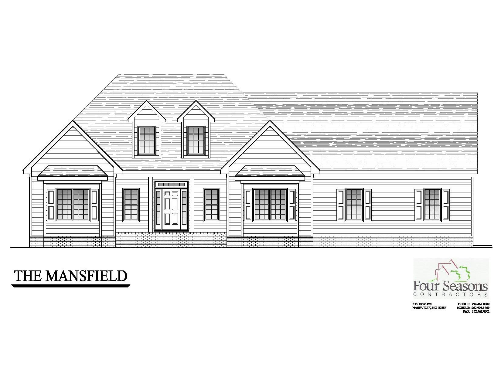 Exterior featured in The Mansfield By Four Seasons Contractors in Rocky Mount, NC