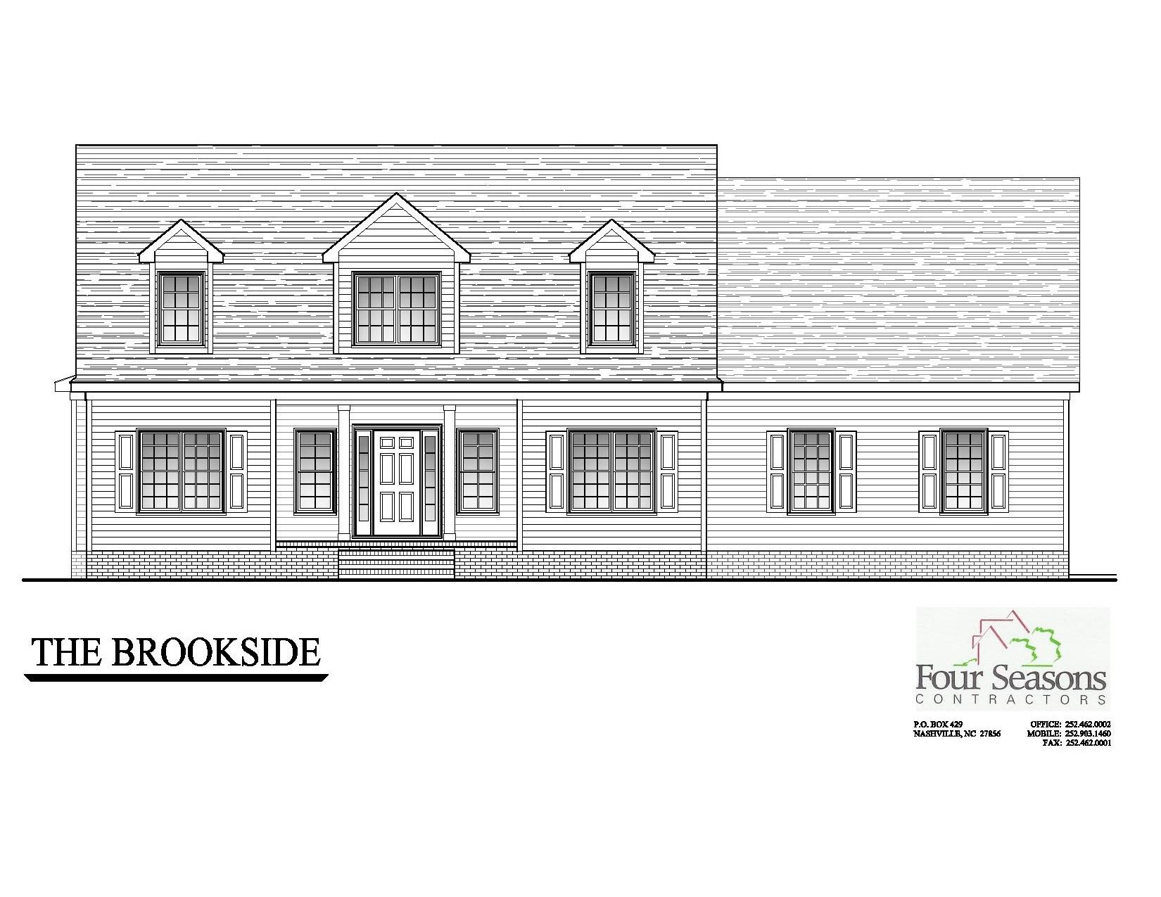 Exterior featured in The Brookside By Four Seasons Contractors in Rocky Mount, NC