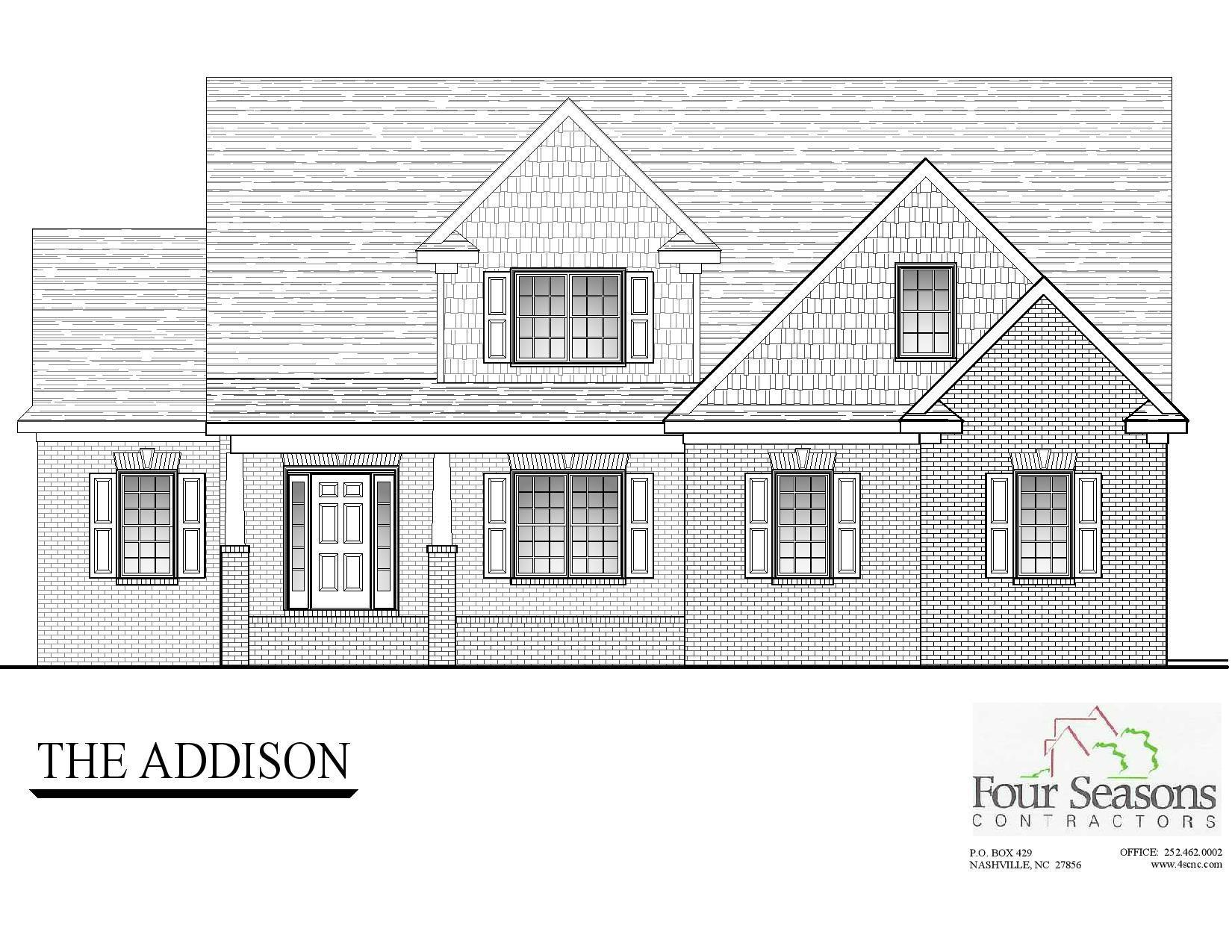 Exterior featured in The Addison By Four Seasons Contractors in Rocky Mount, NC