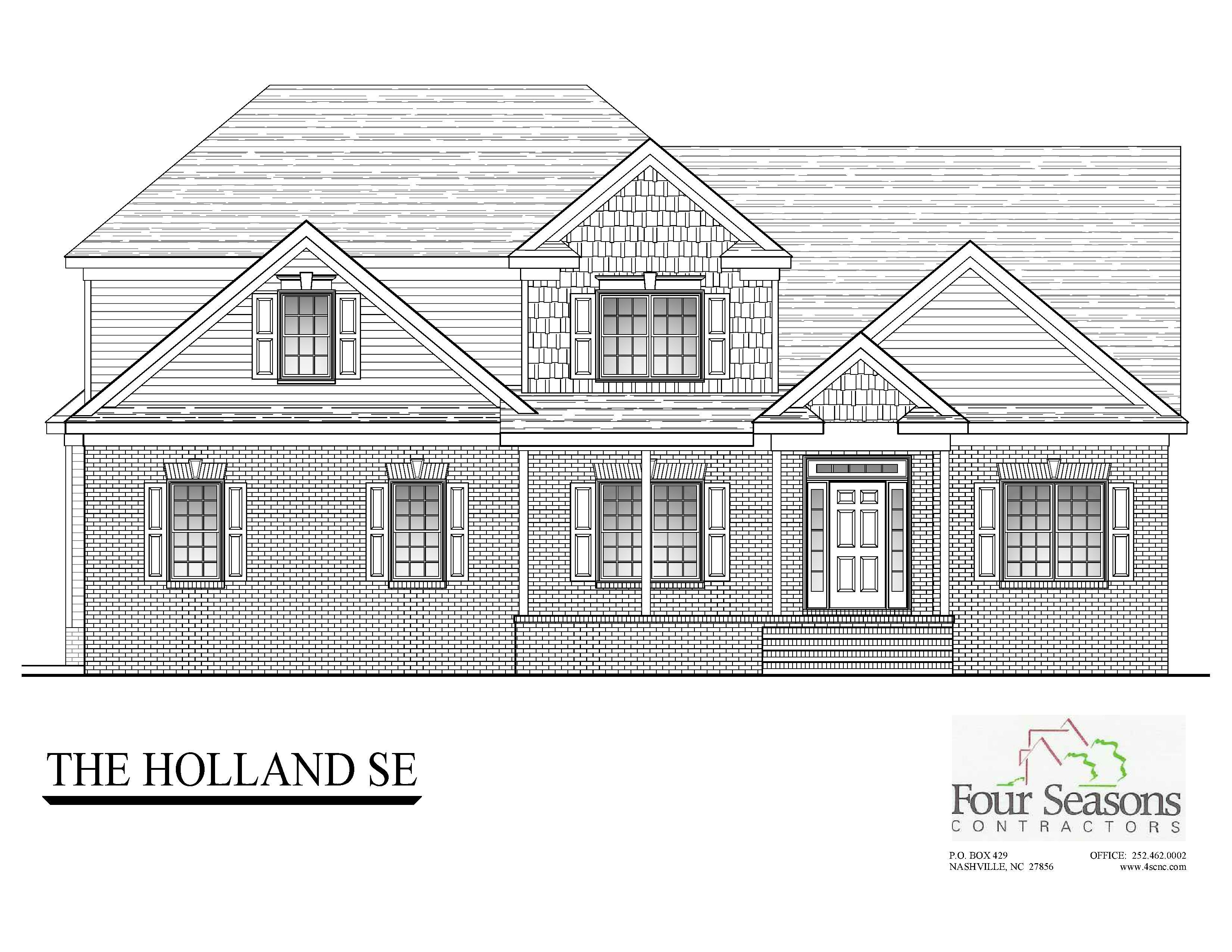 Exterior featured in The Holland By Four Seasons Contractors in Rocky Mount, NC