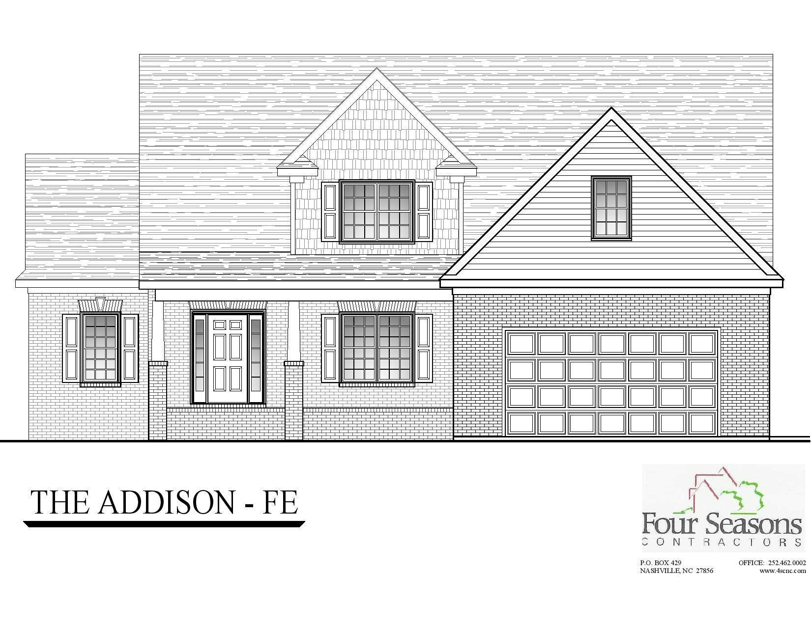 Exterior featured in The Addison FE 2.5 By Four Seasons Contractors in Rocky Mount, NC