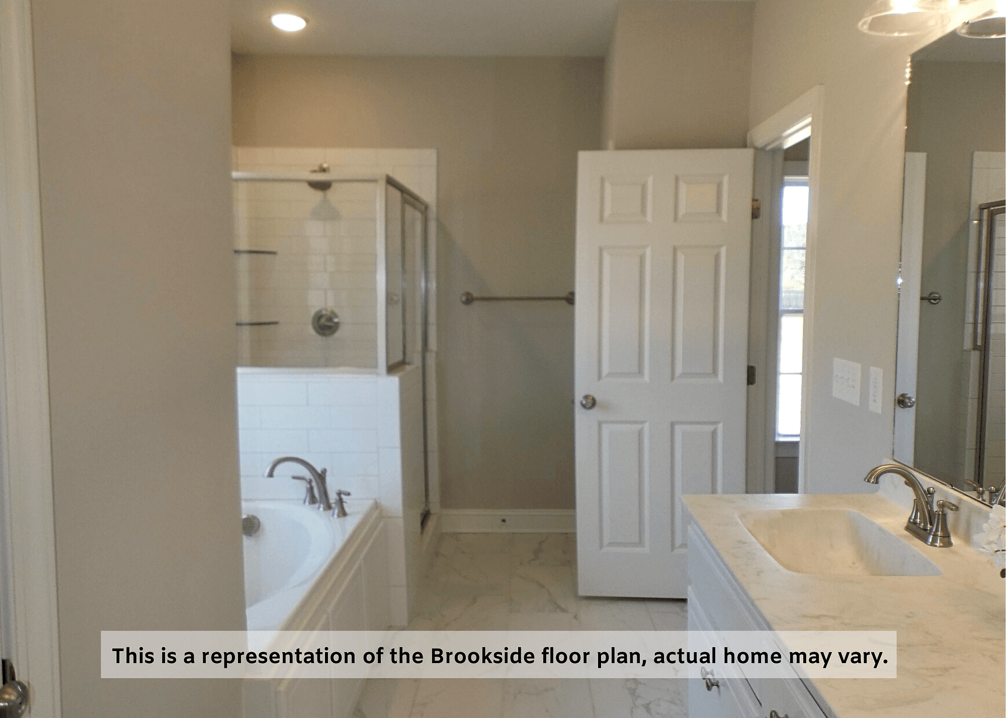 Bathroom featured in The Brookside By Four Seasons Contractors in Rocky Mount, NC