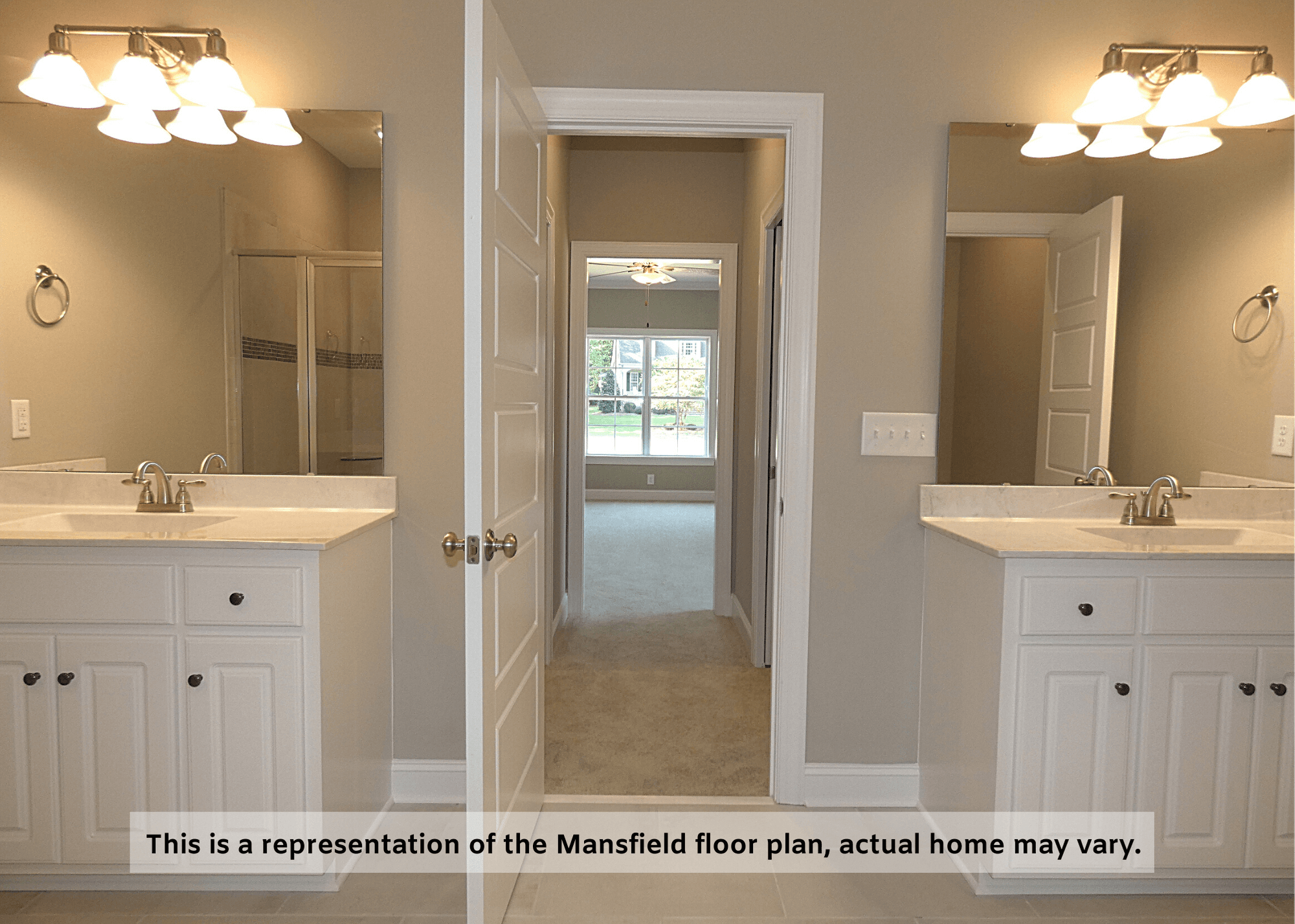 Bathroom featured in The Mansfield By Four Seasons Contractors in Rocky Mount, NC