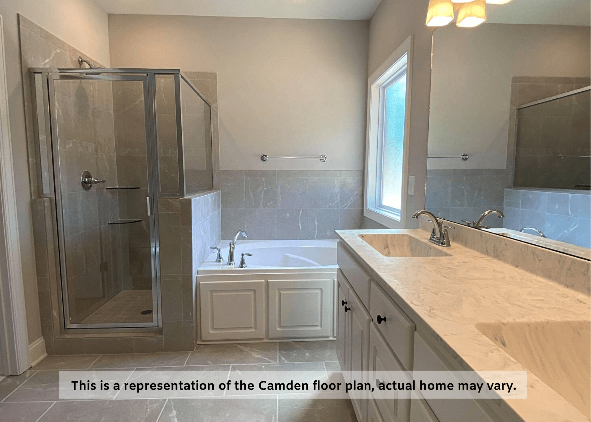 Bathroom featured in The Camden FE By Four Seasons Contractors in Rocky Mount, NC