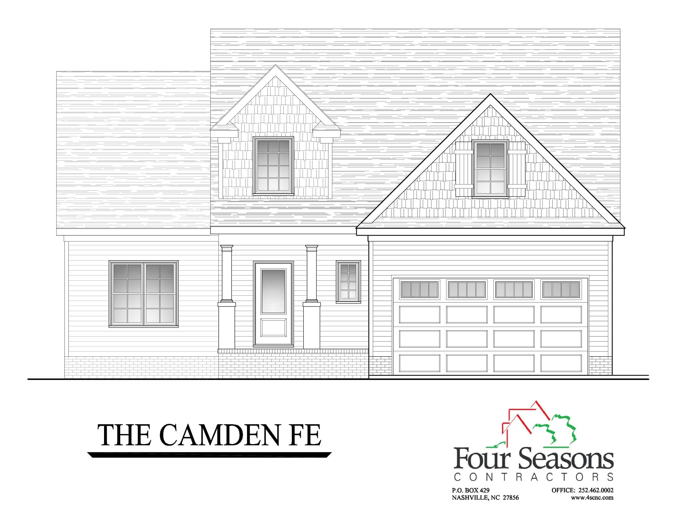 Exterior featured in The Camden FE By Four Seasons Contractors in Rocky Mount, NC