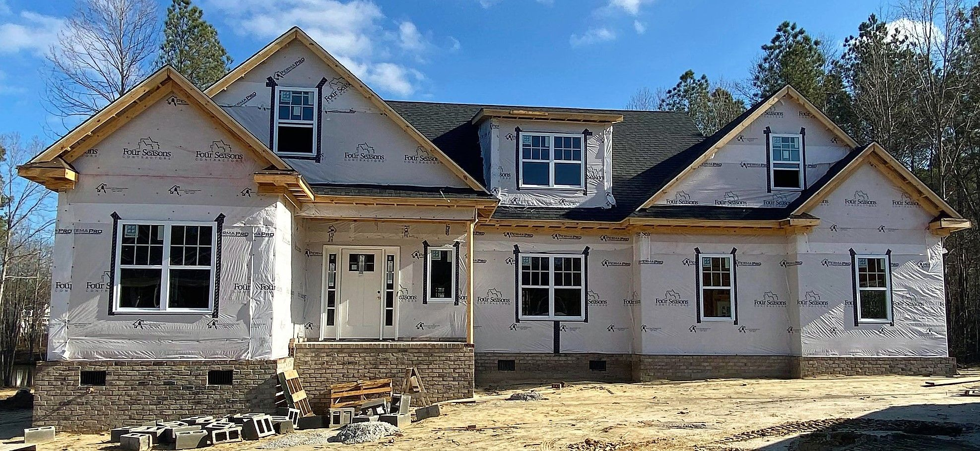 Exterior featured in The Shefford By Four Seasons Contractors in Rocky Mount, NC