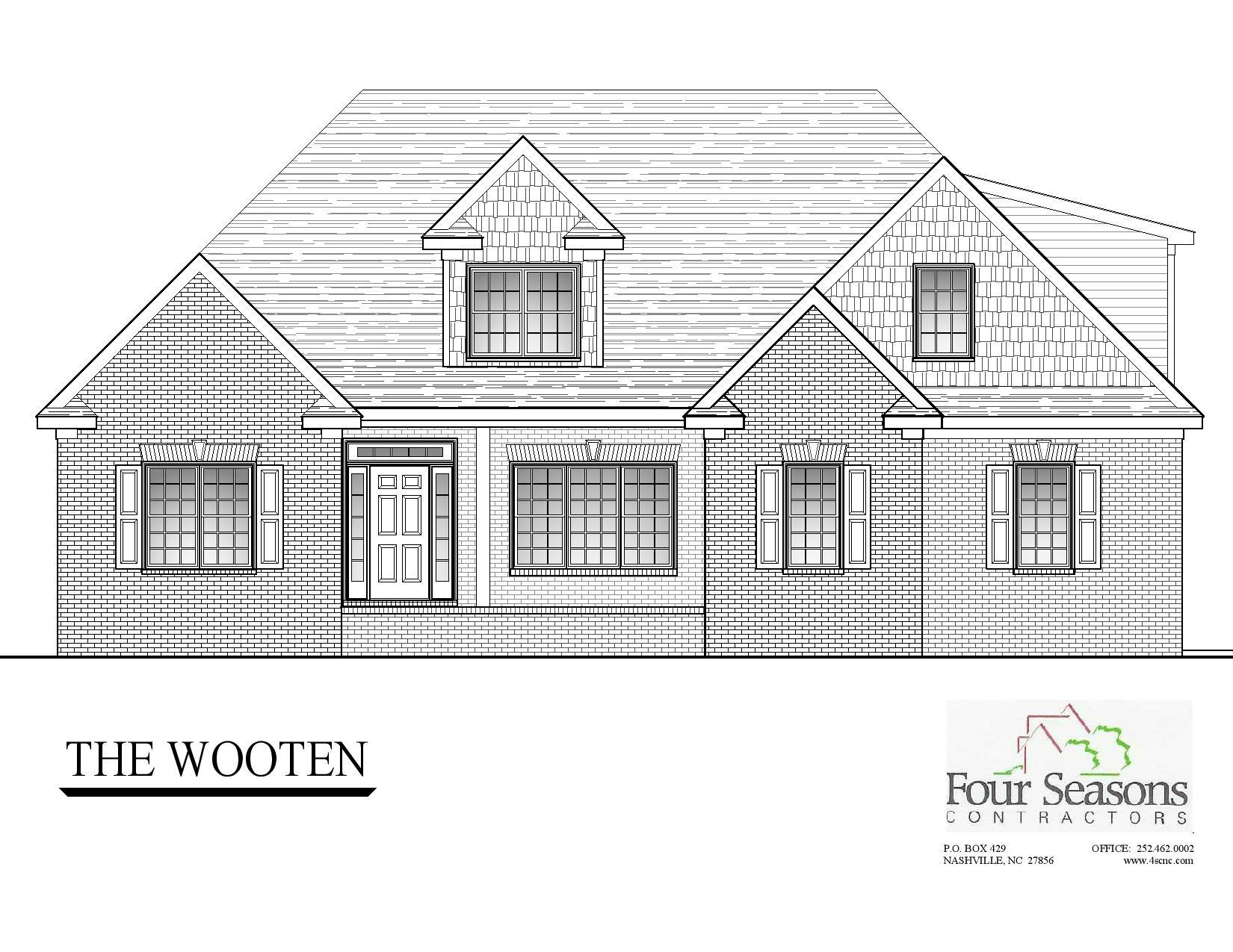 Exterior featured in The Wooten By Four Seasons Contractors in Rocky Mount, NC
