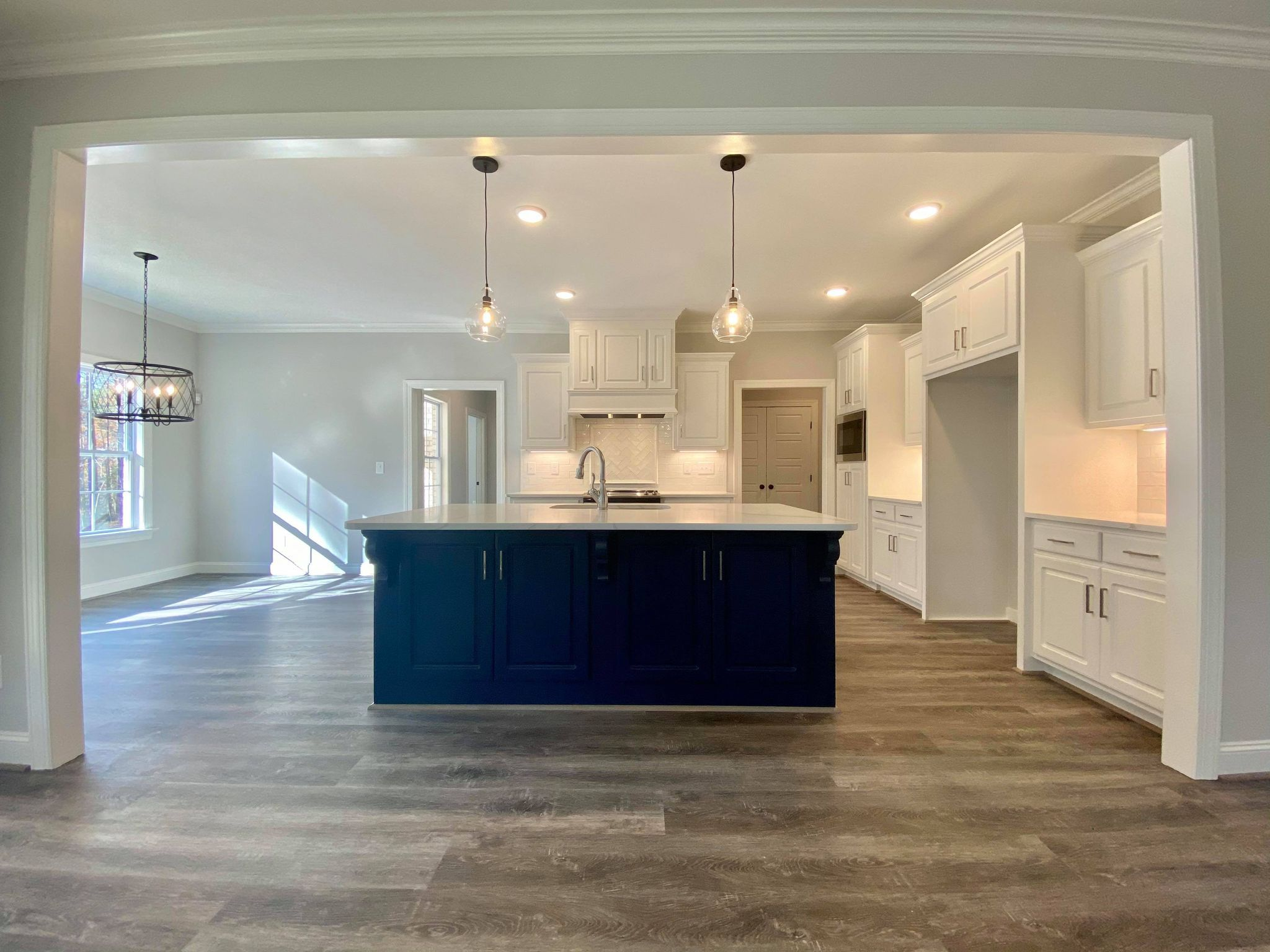 Kitchen featured in The Wooten By Four Seasons Contractors in Rocky Mount, NC