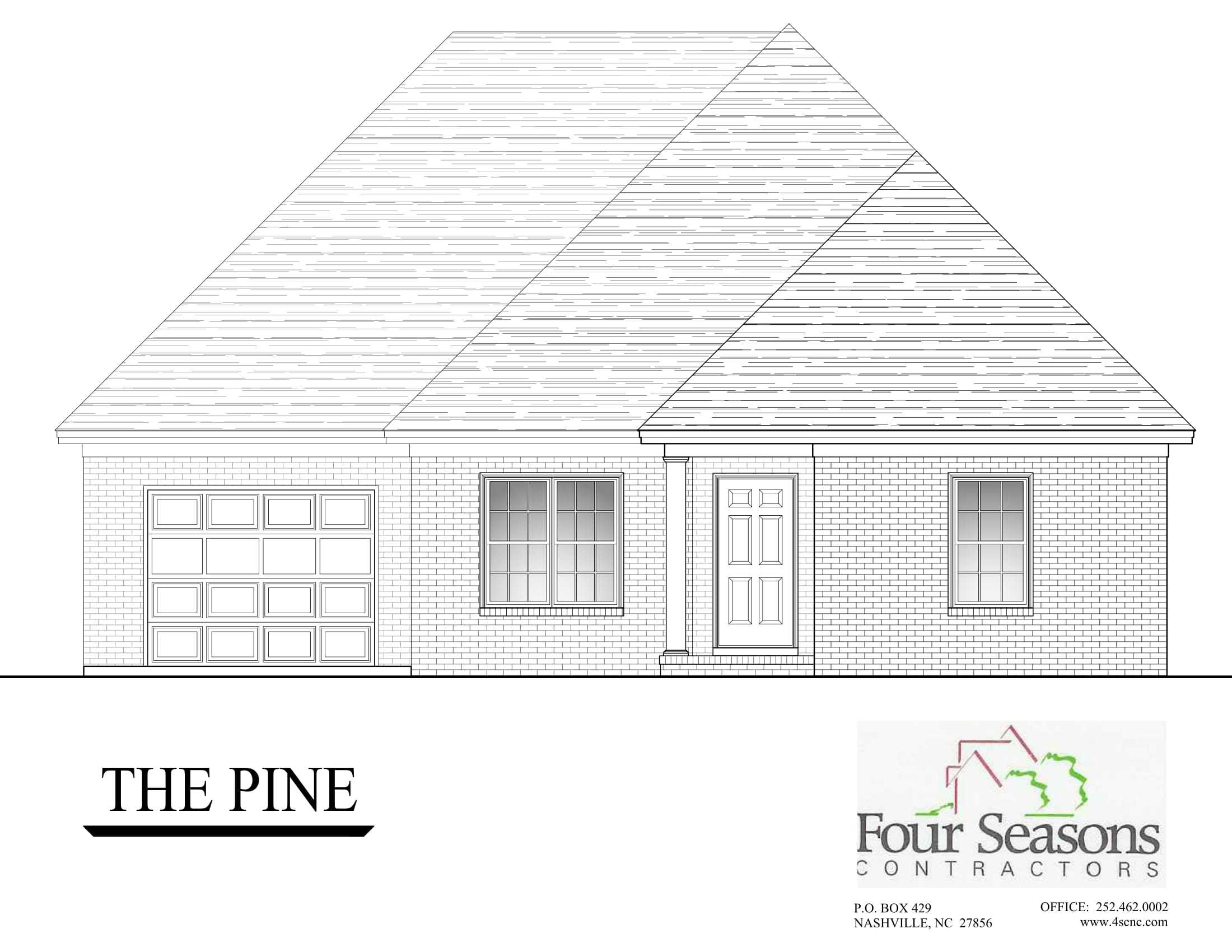 Exterior featured in The Pine By Four Seasons Contractors in Rocky Mount, NC