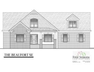 The Beaufort Floor Plan - The Landing at Cooper Fields: Nashville, North Carolina - Four Seasons Contractors